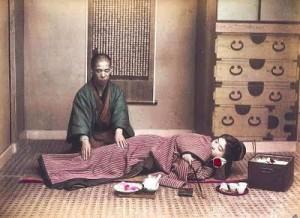 Shiatsu története